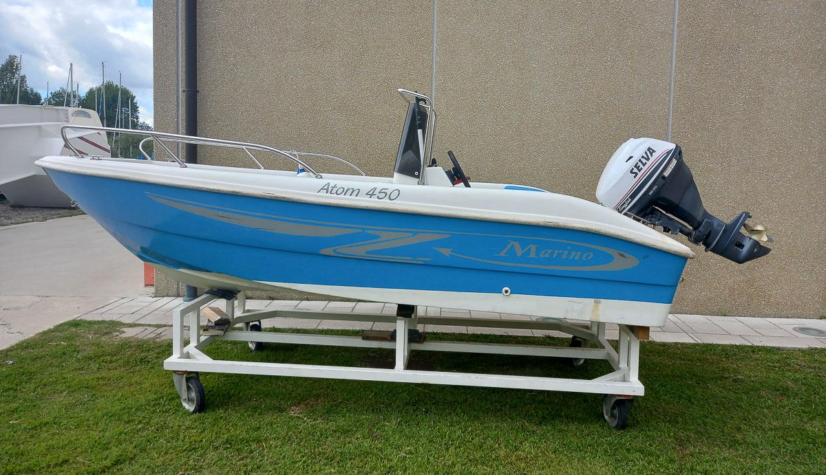 Atom 450 25 hp Selva Marine
