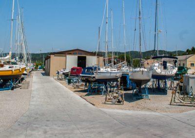 cantiere nautico Marina Timavo