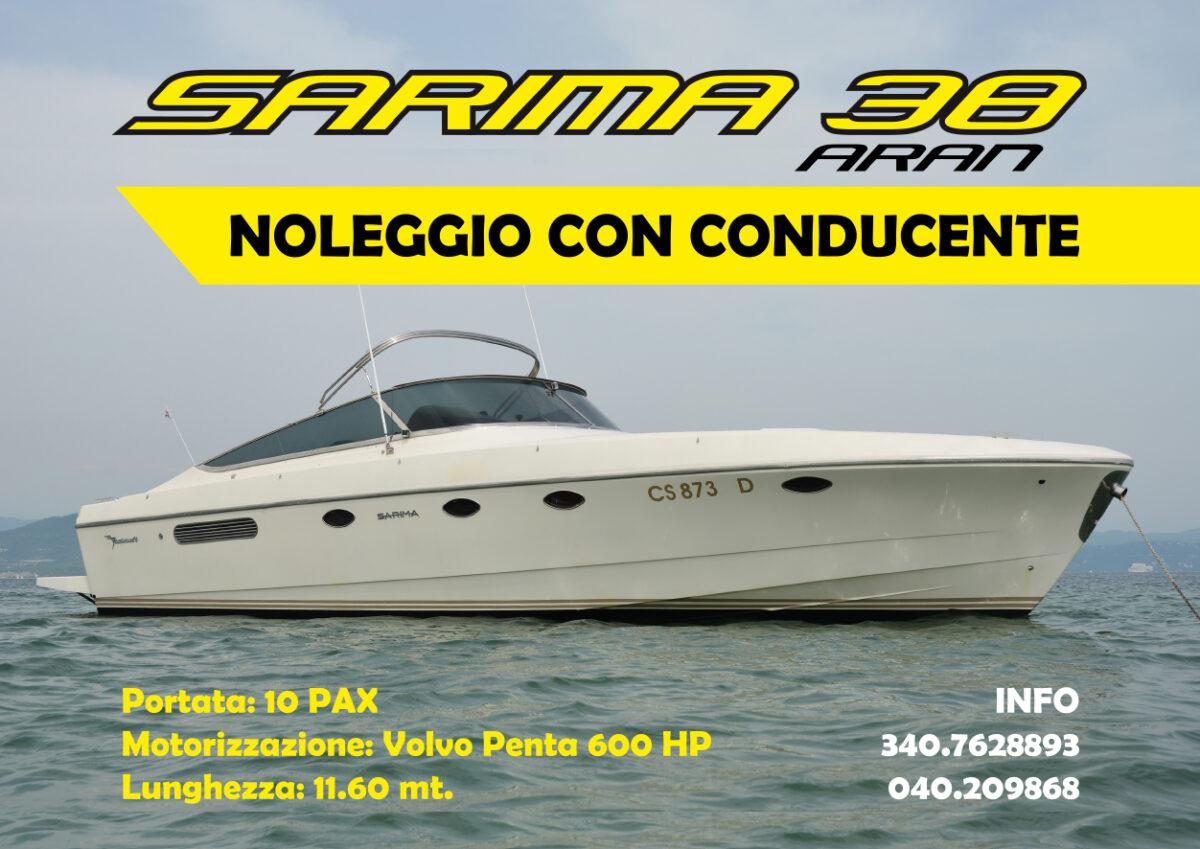 noleggio barche con conducente Trieste