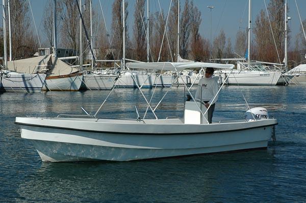J & J 6. barca a noleggio senza patente Villaggio del pescatore Marina Timavo
