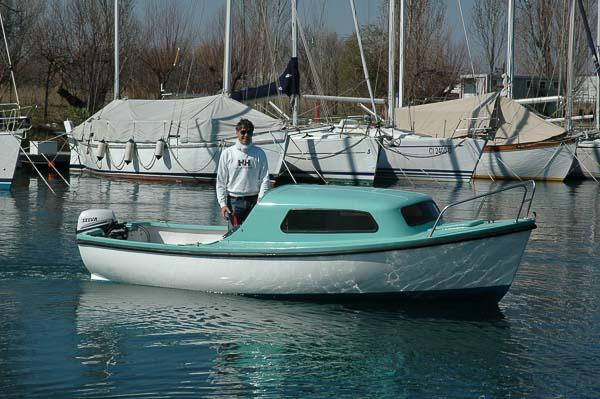 Pilotina a noleggio Trieste Marina Timavo