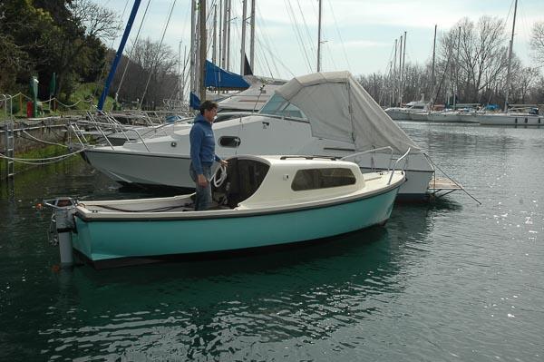 barca elettrica a noleggio Trieste Marina Timavo