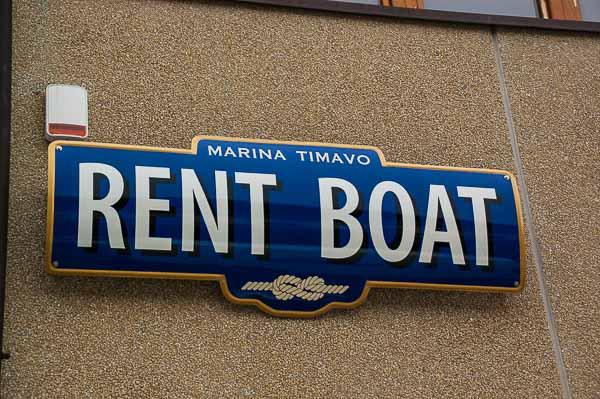 noleggio barche Trieste Marina Timavo
