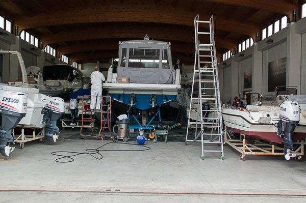 posti barca al coperto Marina timavo Trieste